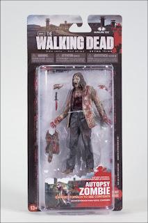 McFarlane Toys The Walking Dead Autopsy Zombie figure