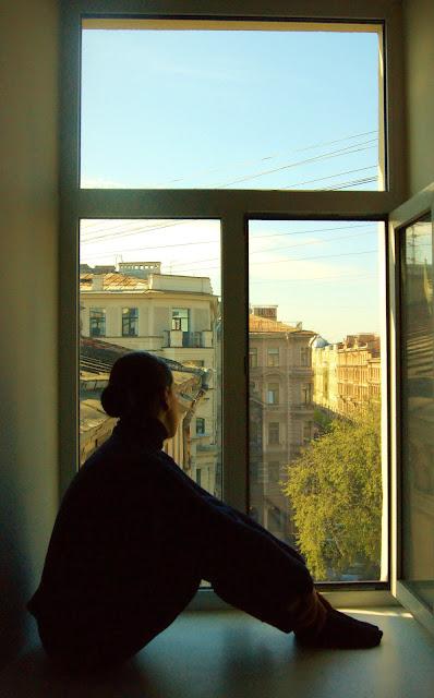 finestra San Pietroburgo