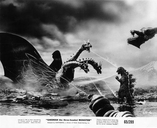 De nuevo Godzilla, Rodan y Mothra volveran al cine junto a King  Ghidorah.