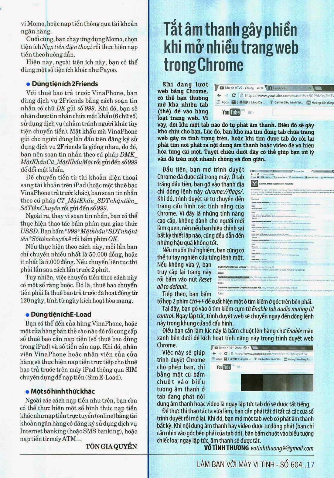 Làm Bạn Với Máy Vi Tính – 604 - tapchicntt.com