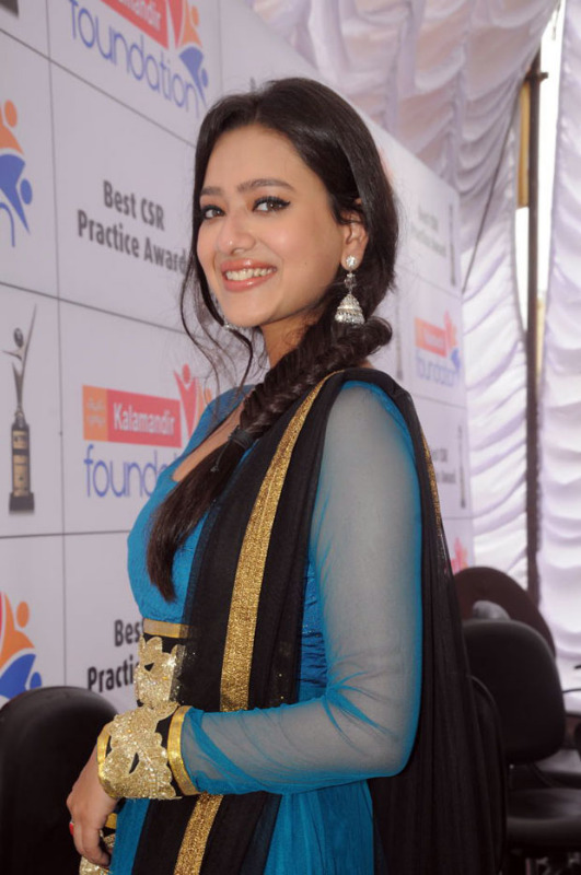 Madalsa sharma hot  - (18) - Madalsa sharma in Blue Suit - Hot Pics