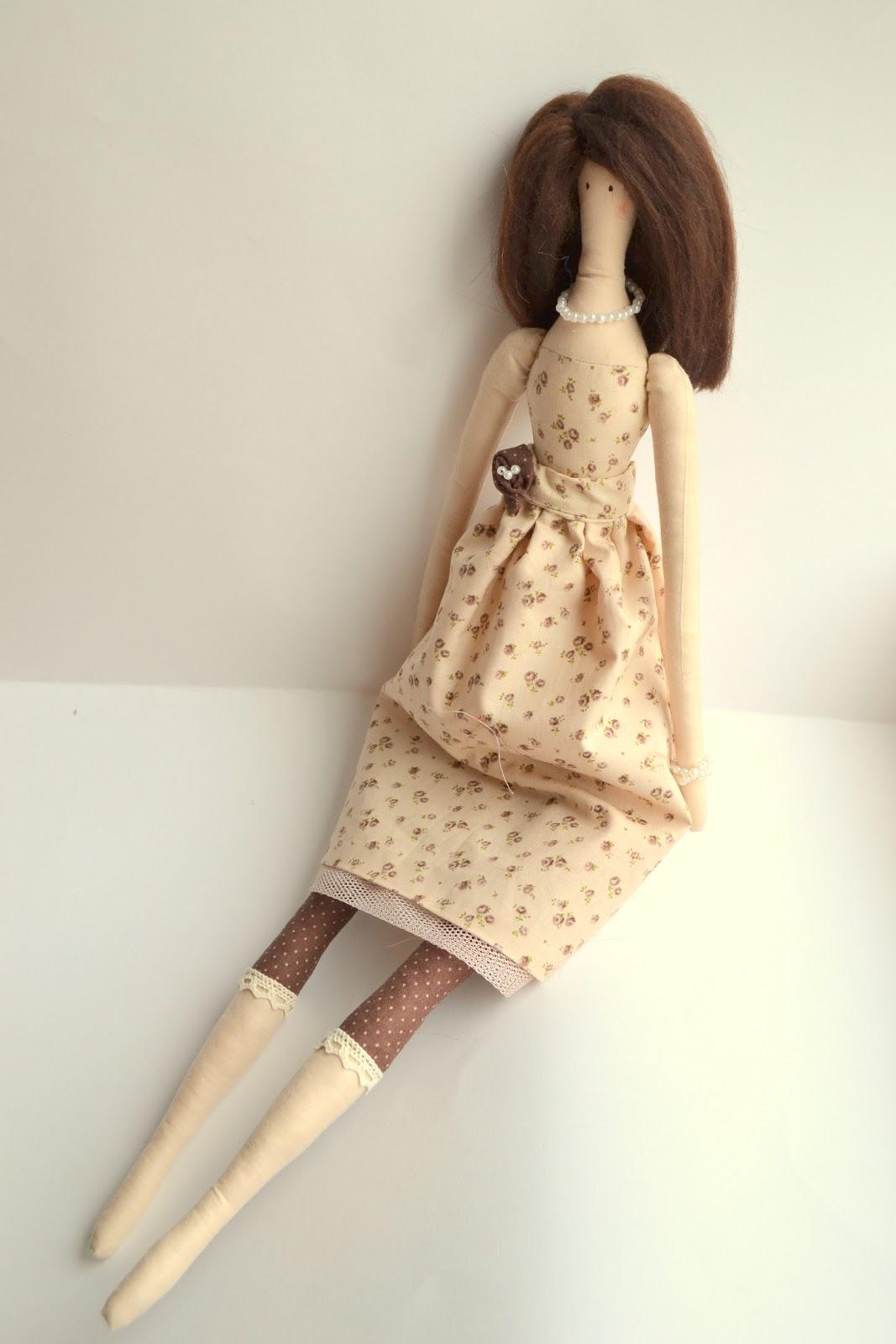 Кукла Тильда : своими руками для начинающих, выкройка, сшить 47