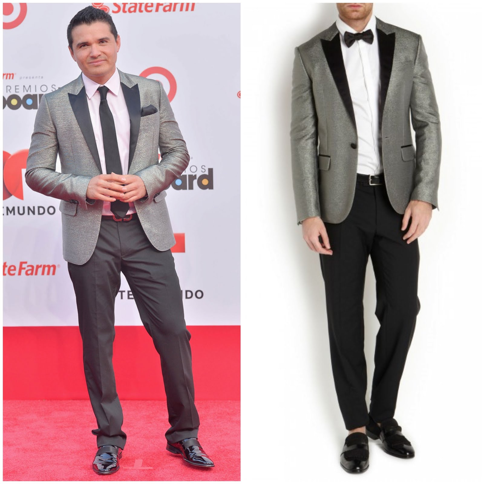 00O00 Menswear Blog Horacio Palencia in DSquared2 - Billboard Latin Music Awards 2013