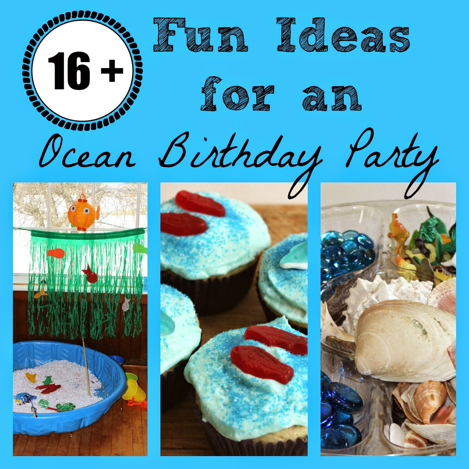 Kitchen Floor Crafts Ocean Birthday Party