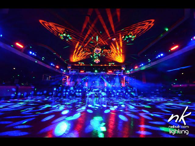 TRU night club, Las Vegas, lighting, GC Pro