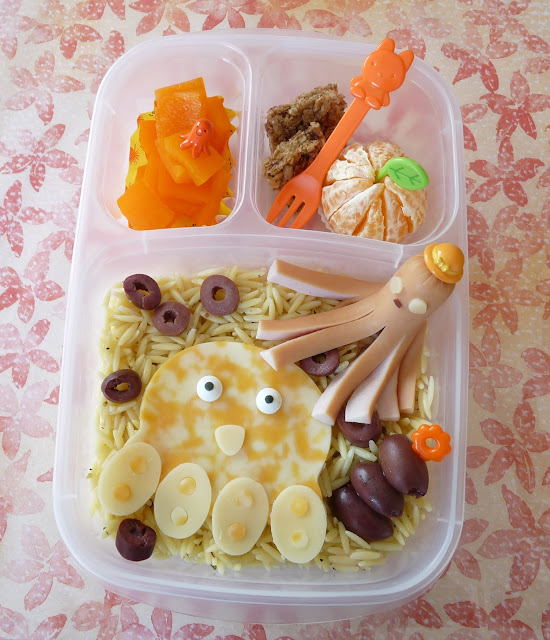 cutezcute octopus bento