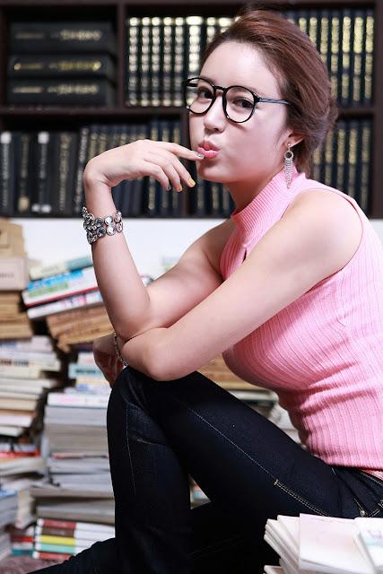 Korean Model Yoon Joo Ha