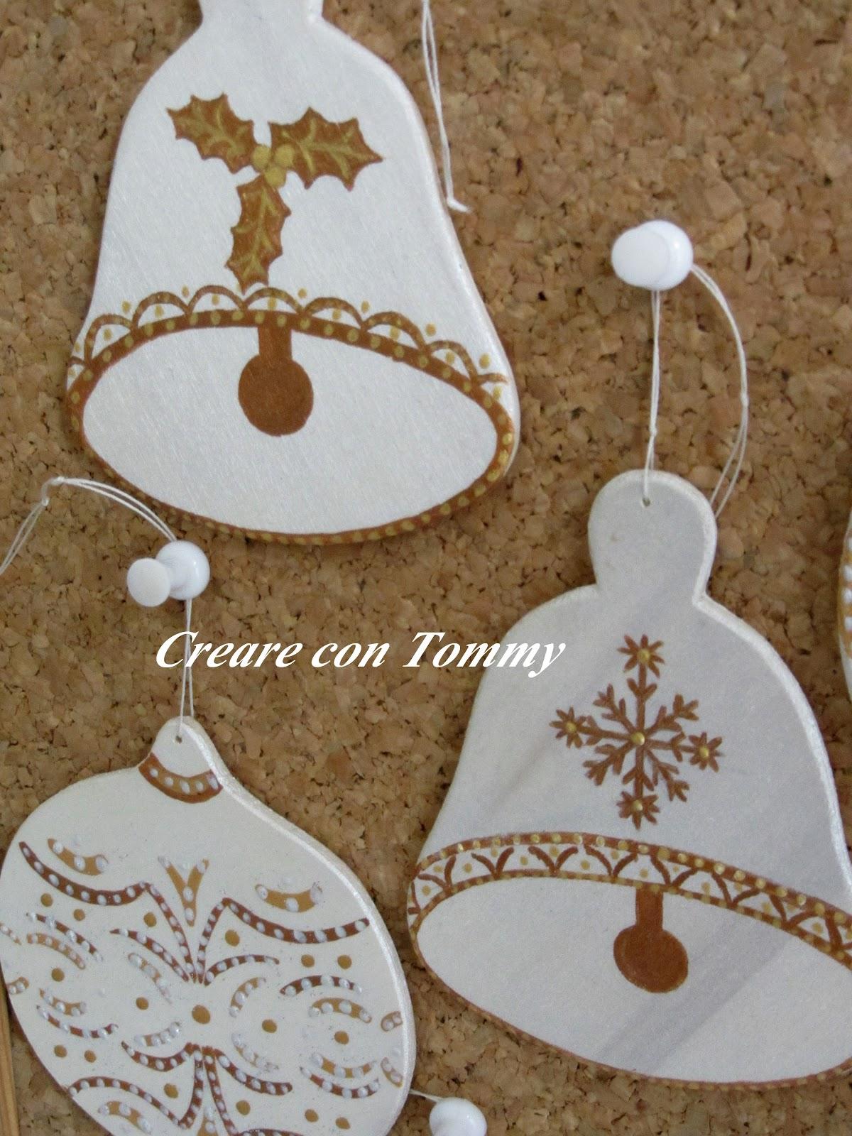 Creare con tommy natale decorazioni natalizie in legno - Decorazioni natalizie in legno ...