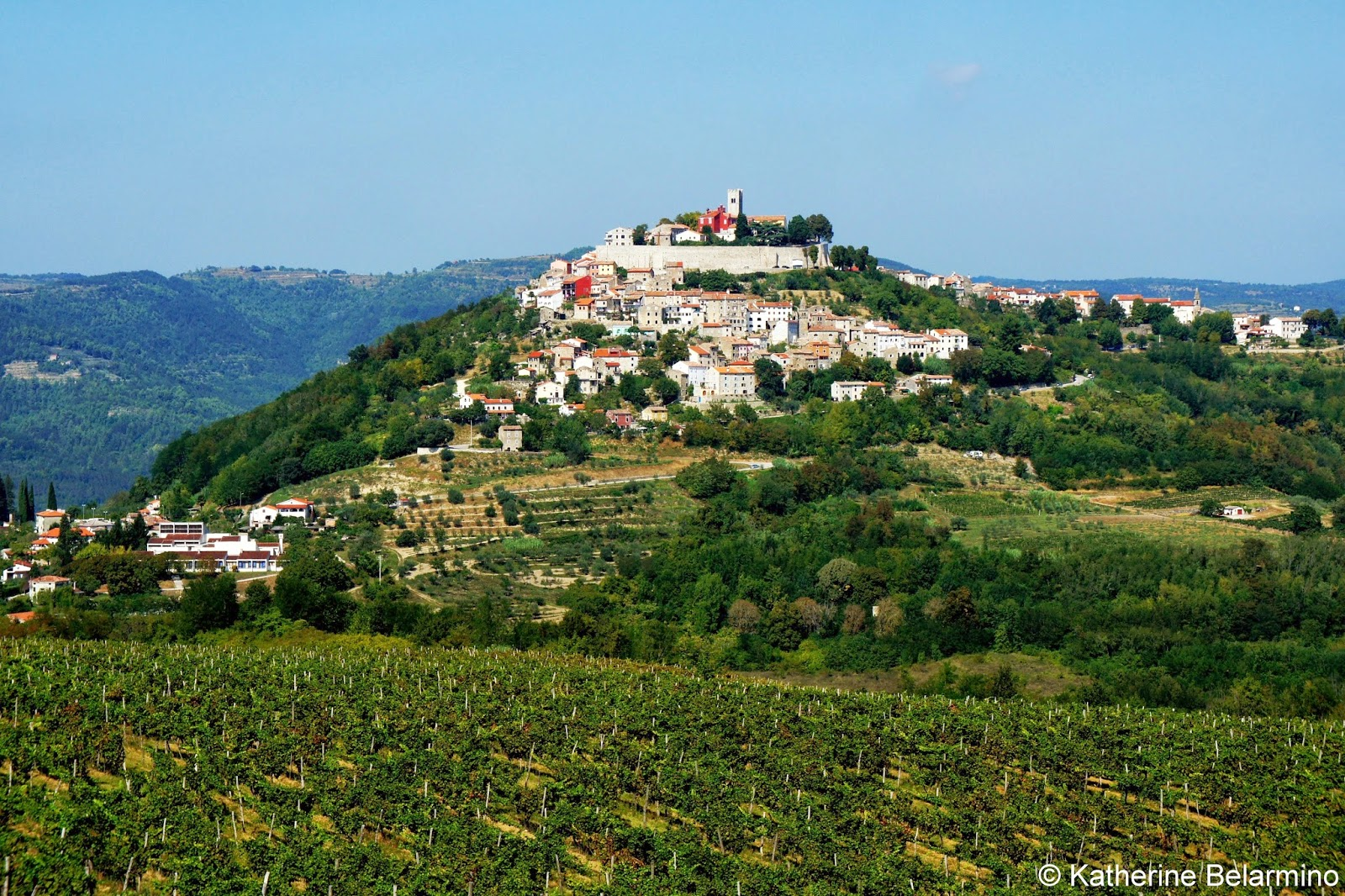Motovun Istria Croatia Travel