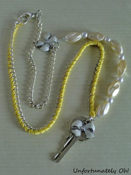 OOAK key pendant