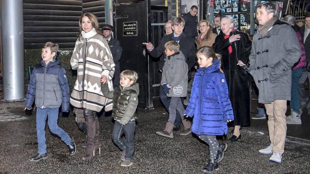 Princess Josephine. The other royal kids, Prince Christian, 9, Princess Isabella, 7, and Prince Joachim's older sons Prince Felix, 12, and Prince Nikolai,