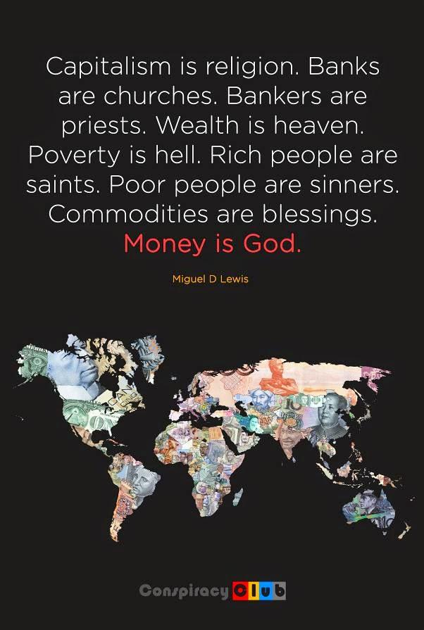 Τα λεφτά είναι Θεός