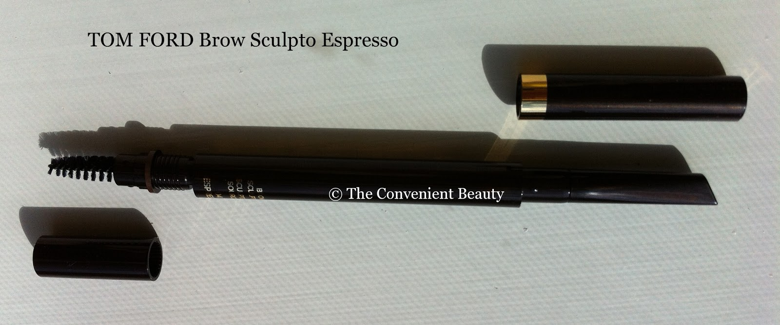 The Convenient Beauty Review Tom Ford Brow Sculptor In Espresso