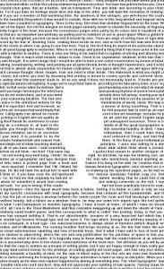 crystal goblet essay