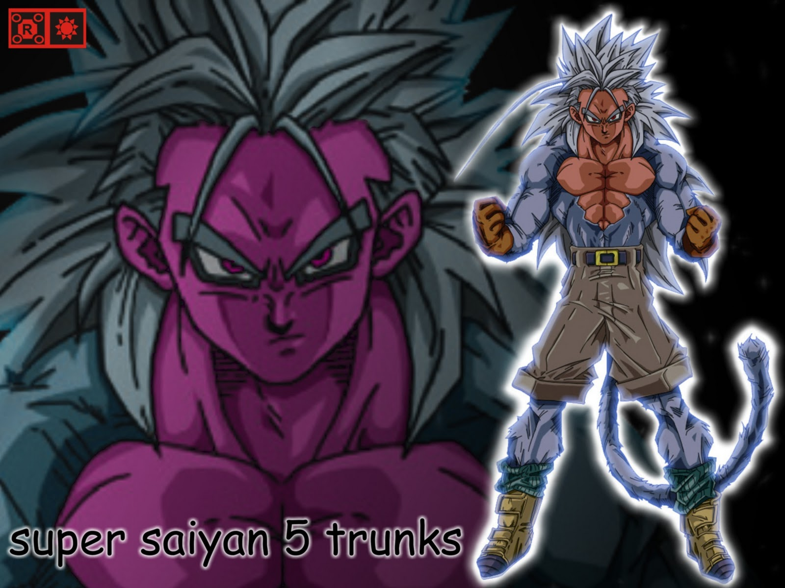 Dragon ball z - Goku 5 super saiyan ...