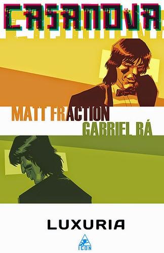 Livro Capa: Casanova - Matt Fraction & Gabriel Bá - Silêncio Que Eu To Lendo