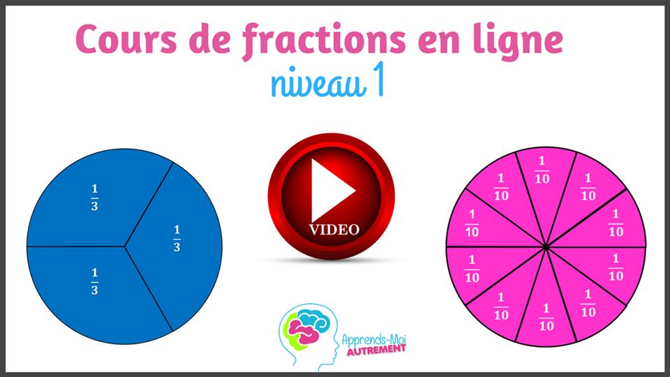 Cours de fractions en ligne pour les enfants