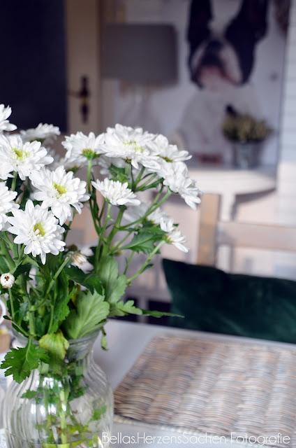 schöne weiße Blumen