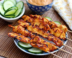 Resep Masakan Sate Ayam Thailand