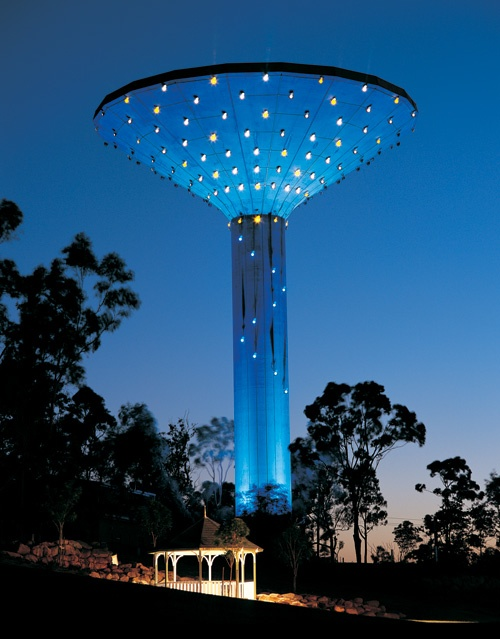 Karl Pearson - Wineglass Water Tower, Hillcrest, Logan Queensland