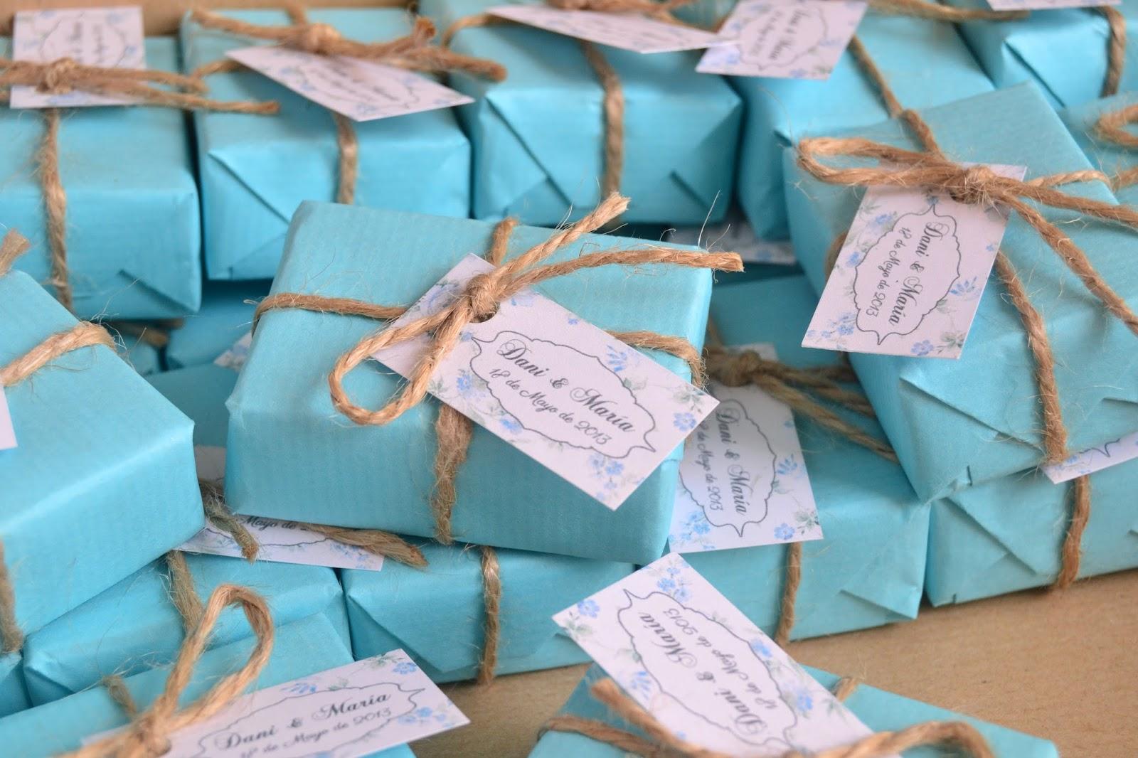 El jab n casero bodas en azul detalles de invitados - Detalles de decoracion ...