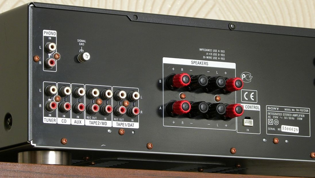 Sony TA-FB720R - Integrated Amplifier | AudioBaza