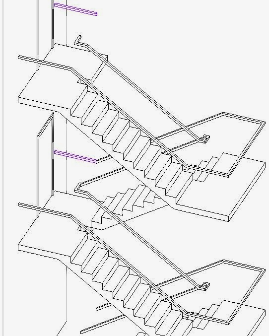 Drawing Property Lines In Revit : Revitcat revit multistorey railings story