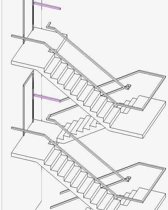 Drawing Property Lines In Revit : Revitcat revit multistorey railings story
