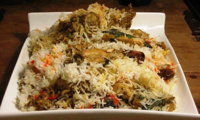 Chicken biryani muslim style - photo#2