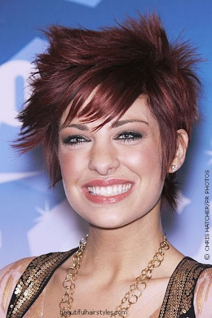 spiky short hairstyles - haircut