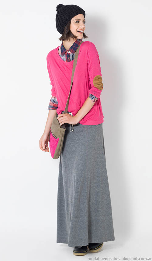 Faldas invierno 2014 moda Yagmour ropa de mujer.