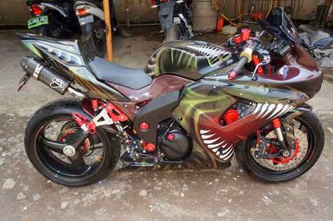 Kawasaki Ninja 250 Modifikasi