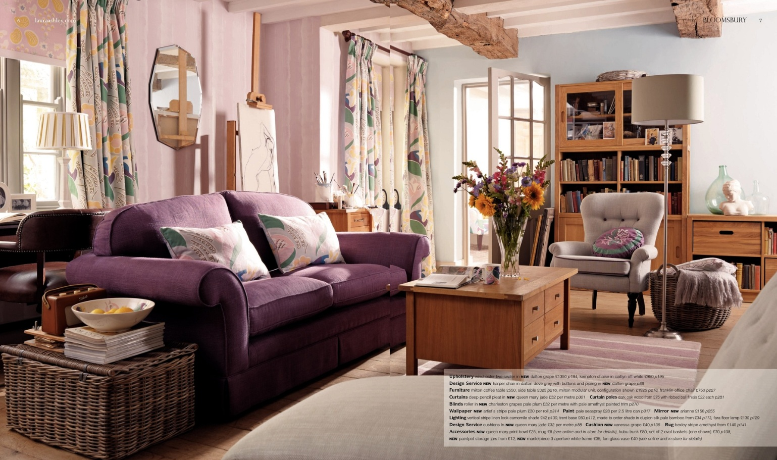 focus laura ashley ss13 catalogue. Black Bedroom Furniture Sets. Home Design Ideas