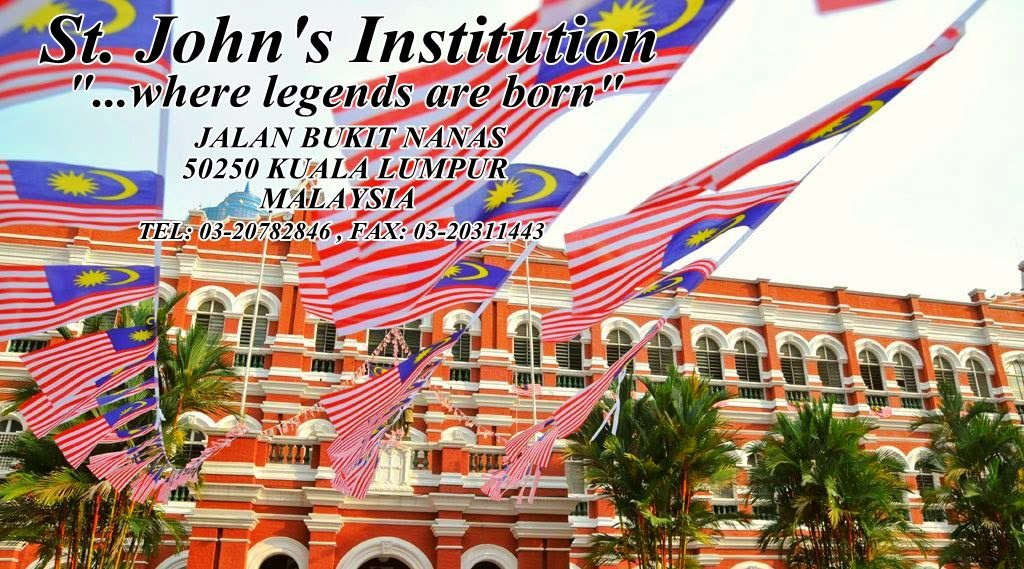 St. John's Institution Jalan Bukit Nanas Kuala Lumpur