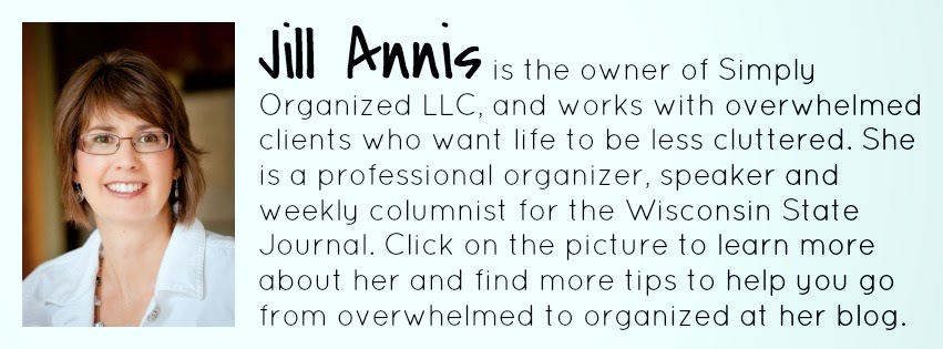 Jill Annis, Professional Organizer :: OrganizingMadeFun.com