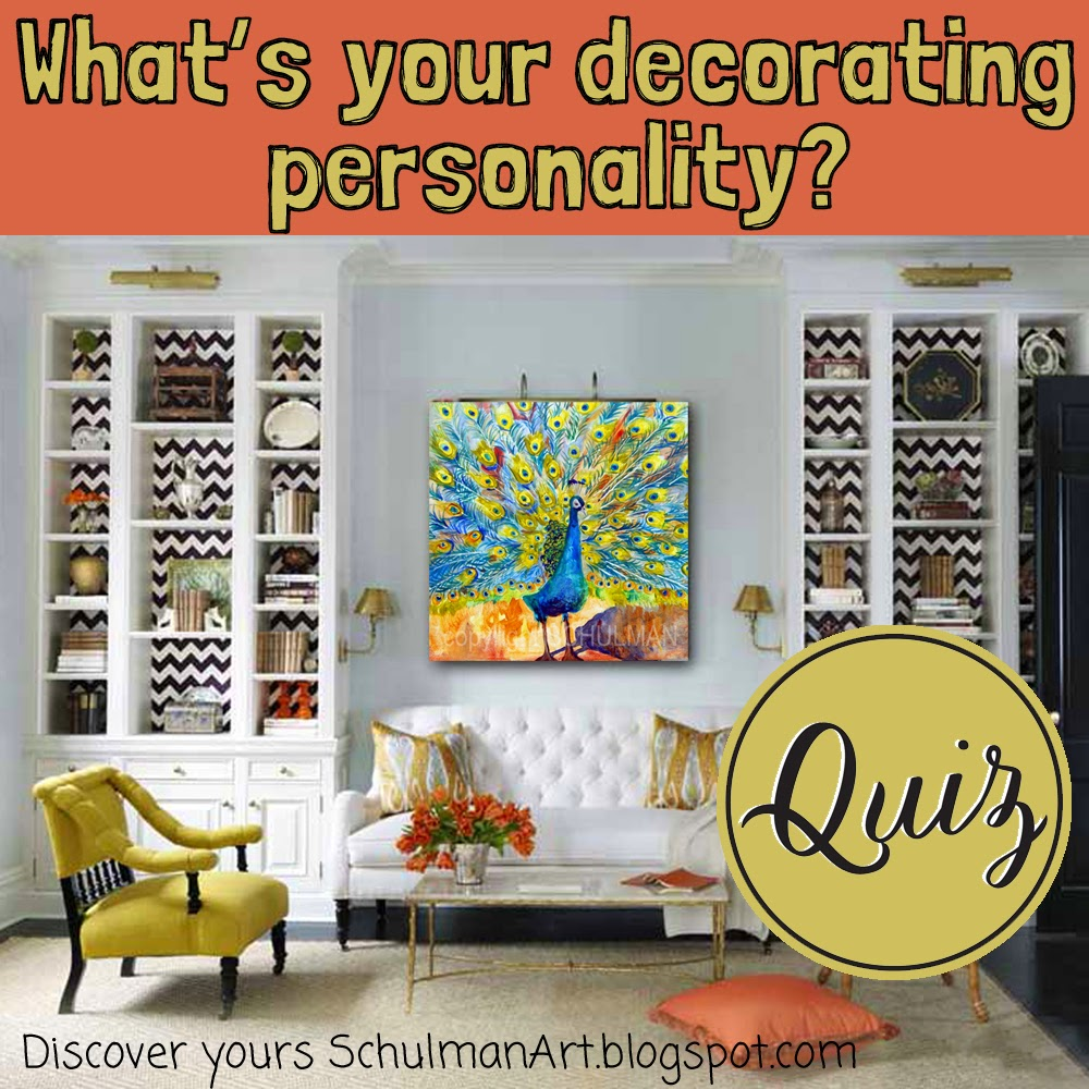 What is your decorating personality? | Schulman Art