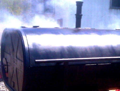 Oil Drum Smoker