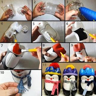 Hasil Kerajinan Tangan, Penguin Lucu