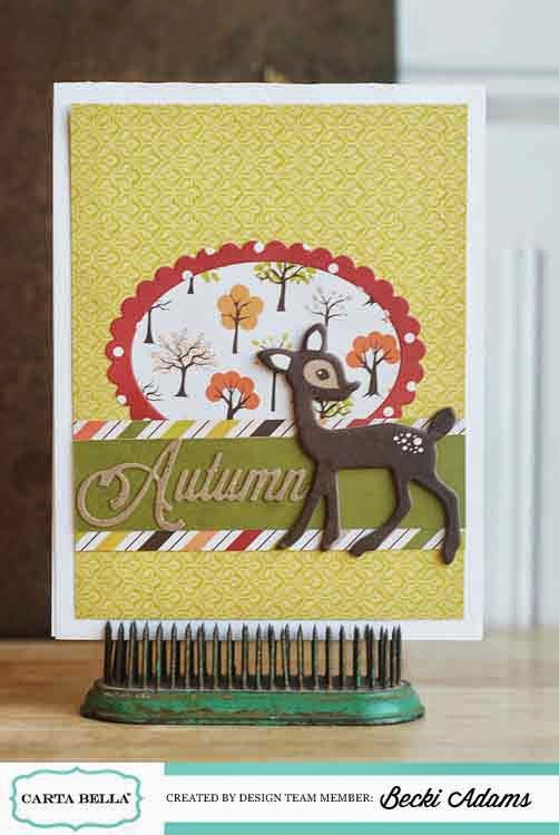 Fall Card ideas by Becki Adams