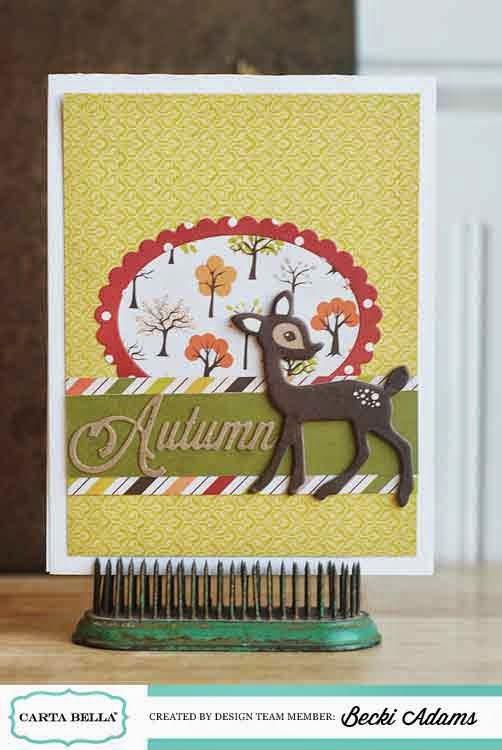 Fall Card ideas by Becki Adams
