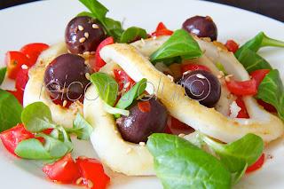 lui: insalata di calamari