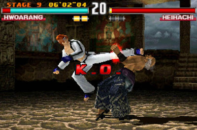 Tekken 3 Hwoarang Heihachi