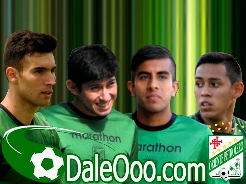 Oriente Petrolero - Danny Bejarano - Pedro Azogue - Ricky Añez - Rodrigo Vargas - DaleOoo.com página del Club Oriente Petrolero