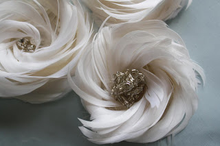Feather Flower Tutorial the Arabella Rose