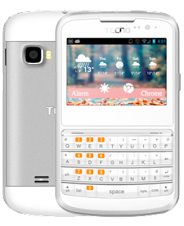 Tecno D1 with Touchscreen and QWERTY keyboard