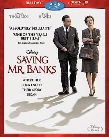 Saving Mr. Banks (Blu-ray + Digital Copy) with Tom Hanks