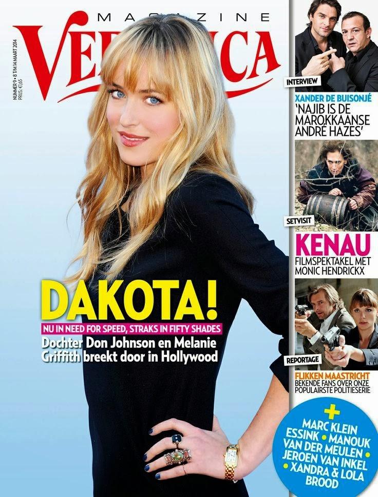 Scan HQ: Dakota Johnson en la portada de Veronica Magazine