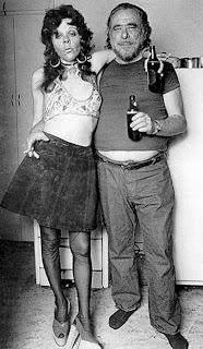 Fotografía del escritor estadounidense Charles Bukowski