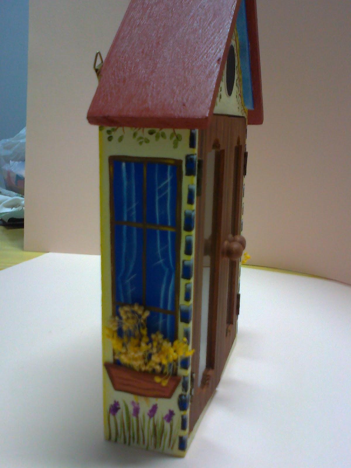 Manualidades Gavimar: Porta llaves de madera