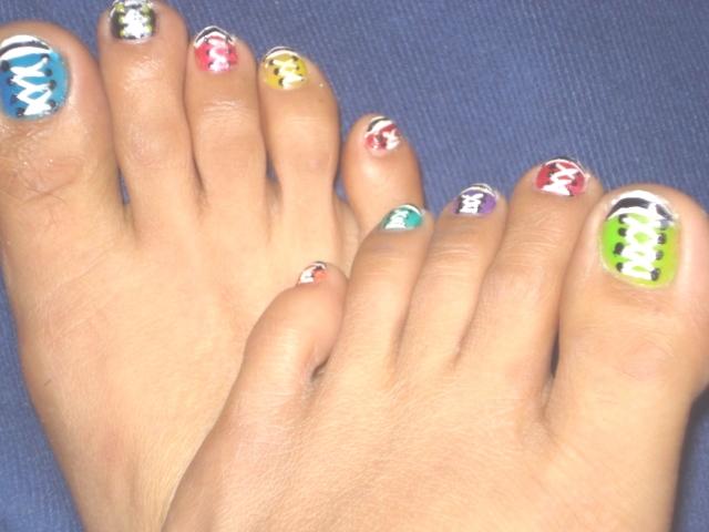Nailicious Claws Converse Shoes Nail Art